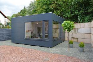 Garten Kubus - Büro im Gartenhaus