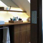 Schreinerei Tischlerei Formschön am Ammersee - hinterleuchteter Waschtisch
