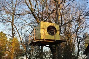 Garten Kubus - Hochwertiges Baumhaus