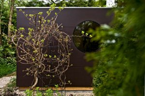 Garten Kubus - Kubus mit seitlichem Fenster
