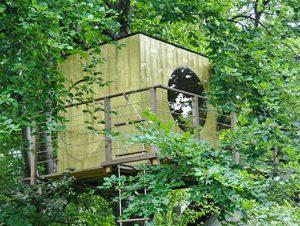 Garten Kubus - Modernes Baumhaus