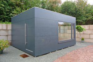 Garten Kubus - Modernes Büro