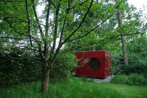 Garten Kubus - modernes Gartenhaus