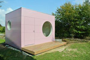 Garten Kubus - Modernes Gartenhaus Büro