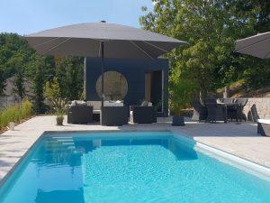 Garten Kubus - Pool Haus isoliert