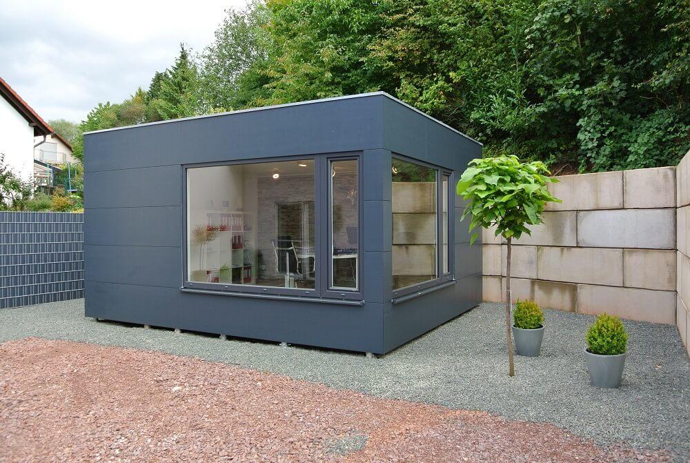 Garten Kubus III modulares Bürozimmer