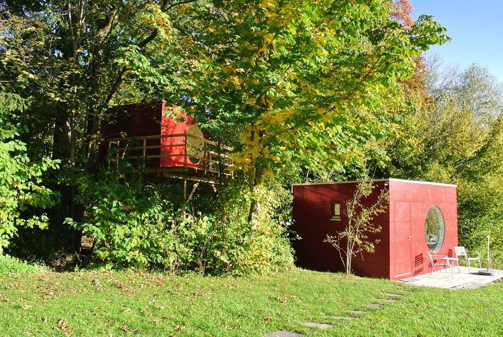 Garten Kubus III modernes Baumhaus