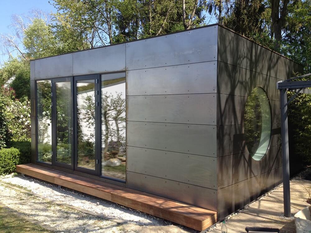 Garten Kubus III modulares Gästezimmer