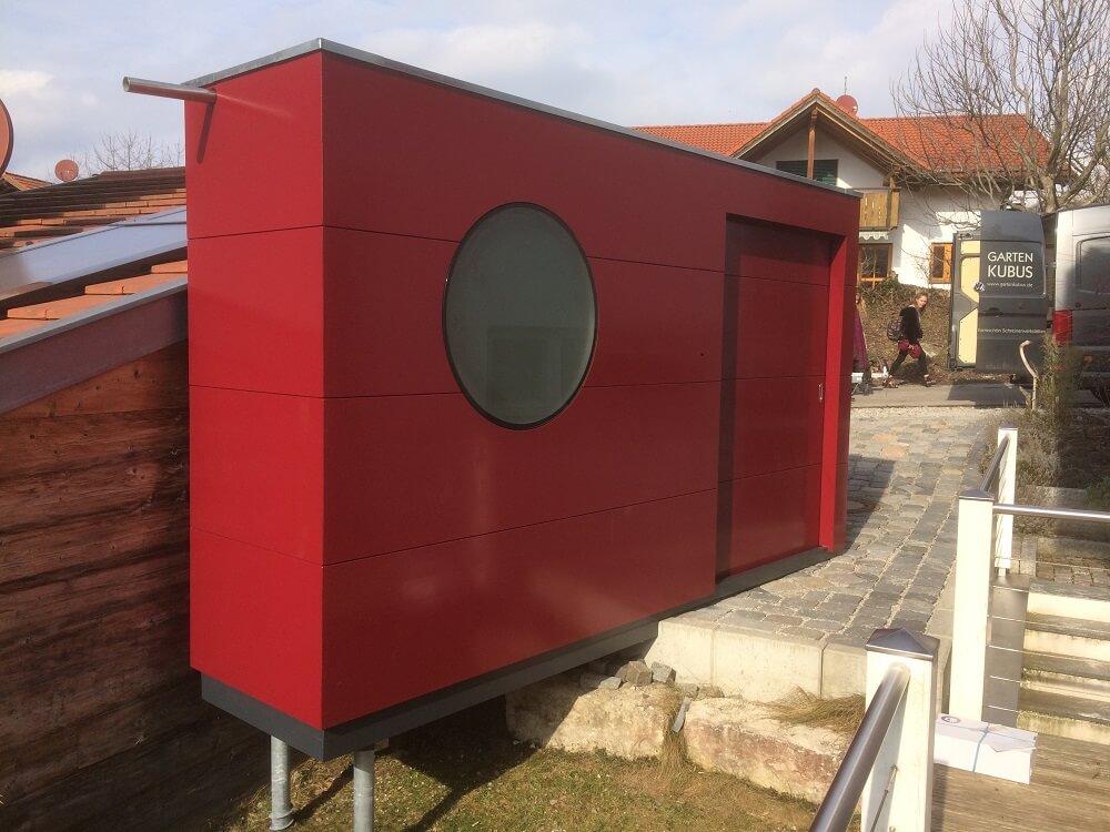 Garten Kubus III custom designer Gartenhaus