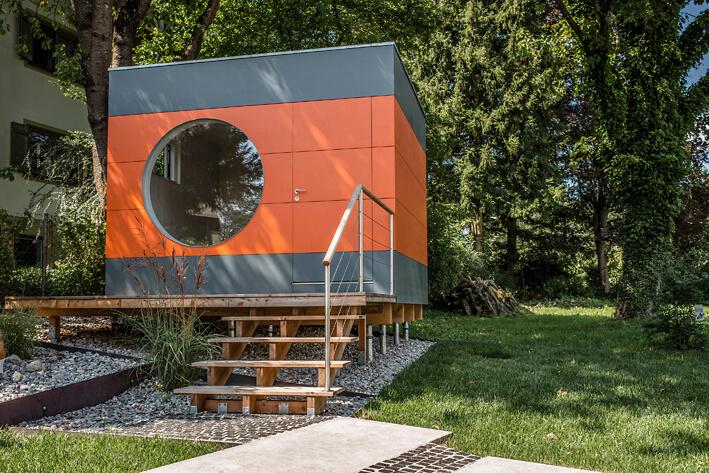 Garten Kubus II modernes Gartenhaus