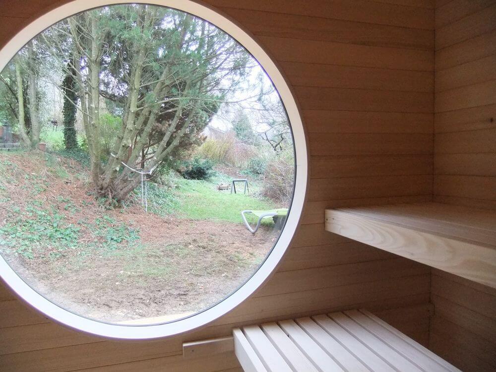 Garten Kubus Sauna Modulhaus