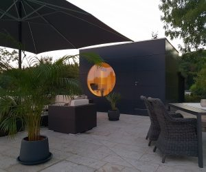 Garten Kubus II poolhaus