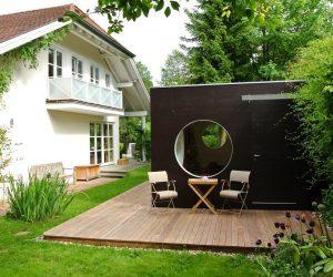 Garten Kubus II modernes Büro Gartenhaus