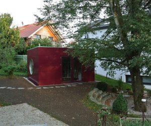 Garten Kubus II Modulhaus WOHNRAUM KUBUS