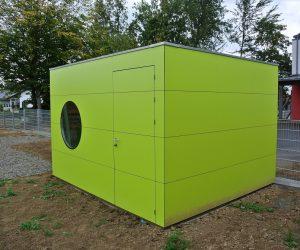 Design Gartenhäuser FUNDERMAX