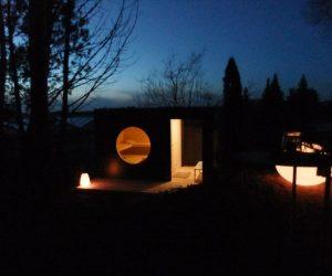 Garten Kubus Sauna Projekt 4
