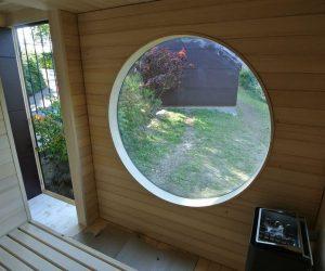Garten Kubus Sauna Projekt 3