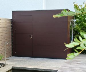Garten Kubus Sauna Projekt 2