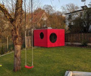 modernes Gartenhaus Kubus