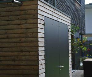 Gartenhaus mit HPL Fassade