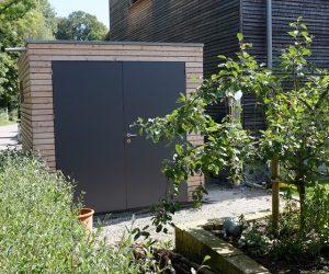 Gartenhaus mit Lärchenholzfassade