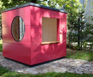 Kindergarten Spielhaus für den Außenbereich