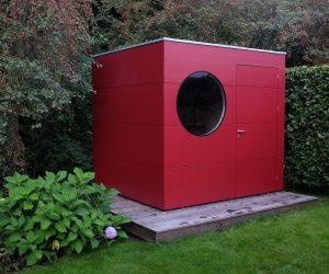 design Gartenhaus aus Holz