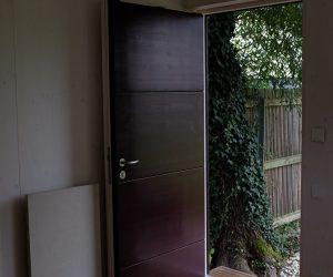 externer Wohnraum mit Steinheizung