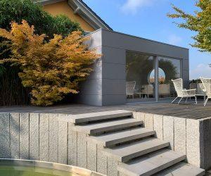 modernes Gartenhaus , Kubus