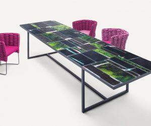 Paola Lenti - Tisch Stühle Ciara